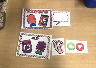 PB&J Partnering Cards