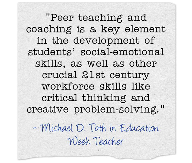 What Strategies Embed Peer Teaching and Peer Coaching into Academic Teaming?