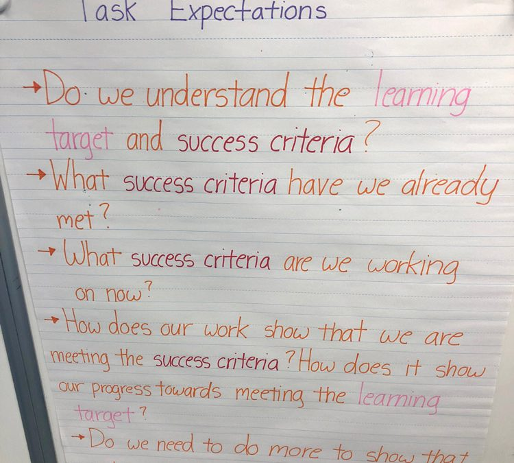 Task Expectations